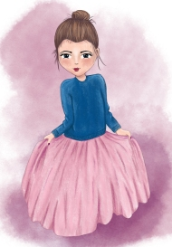 girl-in-pink-skirt_heidi_cogdill