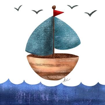Day 9 sailboat
