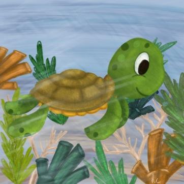 turtle-procreate30-day3